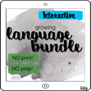 High School Speech Therapy Activities - Brought to you by Detig Dialect- Tricia Detig SLP