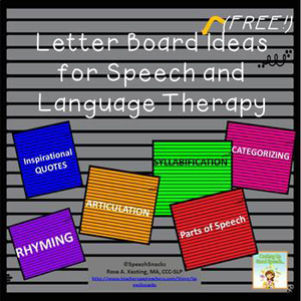 High School Speech Therapy Activities - Brought to you by SpeechSnacks