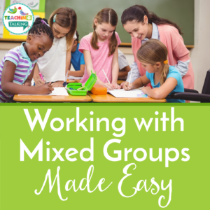 Speech Therapy Mixed Groups Made Easy for SLPs