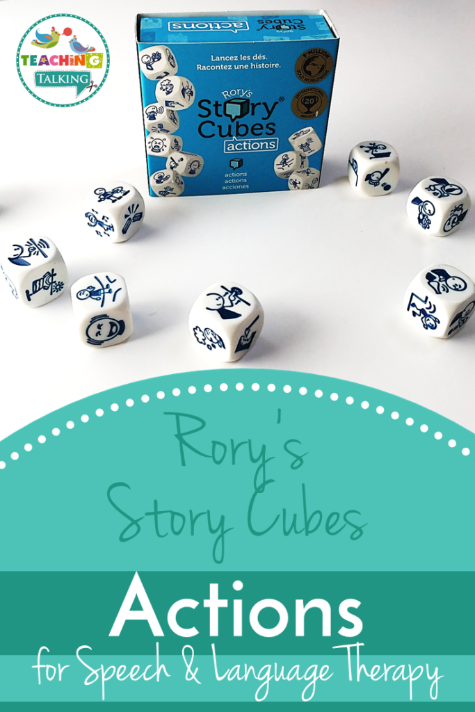 Rory's Story Cubes Actions for Speech Therapy
