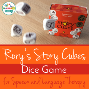 Rory's Story Cubes for Speech Therapy