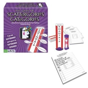 Speech Therapy Games for Middle School: Scattergories