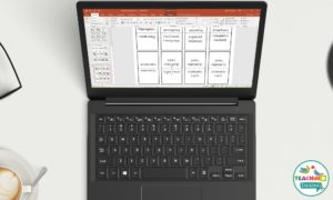 Editable Divider Tabs for Language Notebooks