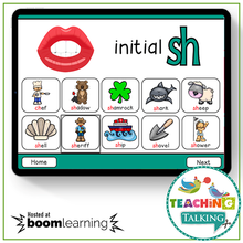 Load image into Gallery viewer, Teaching Talking BOOM Cards BOOM Cards - Articulation Activities for /SH/