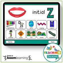Load image into Gallery viewer, Teaching Talking BOOM Cards BOOM Cards - Articulation Activities for /Z/