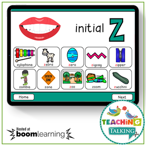 Teaching Talking BOOM Cards BOOM Cards - Articulation Activities for /Z/