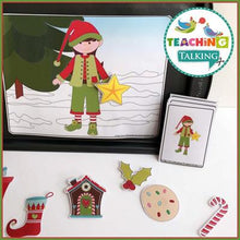 Load image into Gallery viewer, Teaching Talking Christmas Preschool Language Activities for Speech Therapy