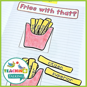 Teaching Talking Printable Articulation Notebook Templates