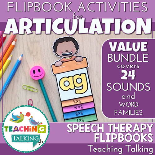 Teaching Talking Printable Articulation