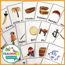 Load image into Gallery viewer, Teaching Talking Printable CCSS Aligned Vocabulary for Second Grade - Pirate Theme