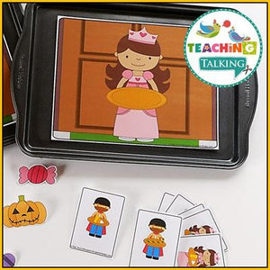 Teaching Talking Printable Holidays Value Bundle of Preschool Language Activities for Speech Therapy