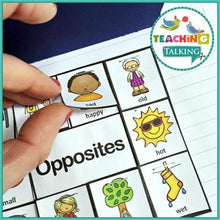 Load image into Gallery viewer, Teaching Talking Printable Preschool Notebooks for Speech and Language Therapy