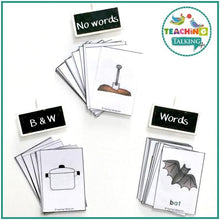 Load image into Gallery viewer, Teaching Talking Printable Rhyming Worksheets and Activities