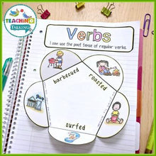 Load image into Gallery viewer, Teaching Talking Printable Speech Therapy Language Notebooks for Summer