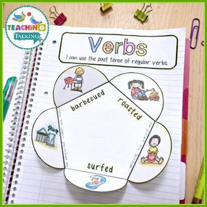 Teaching Talking Printable Speech Therapy Language Notebooks for Summer