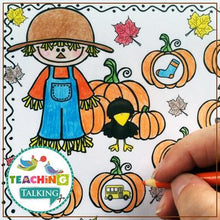 Load image into Gallery viewer, Teaching Talking Printable Value Bundle Print and Go Articulation Activities for Seasons