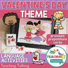 Load image into Gallery viewer, Teaching Talking Valentine's Day Preschool Language Activities for Speech Therapy