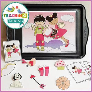 Teaching Talking Valentine's Day Preschool Language Activities for Speech Therapy