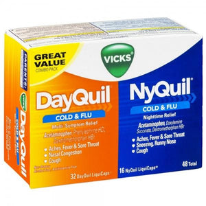 Vicks Dayquil & Nyquil - 48 Liquicaps