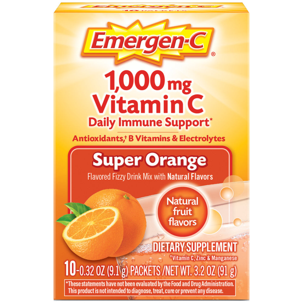 Emergen-C 1000 mg Vitamin C 10 packets