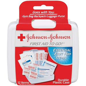 J&J Portable First Aid Kit