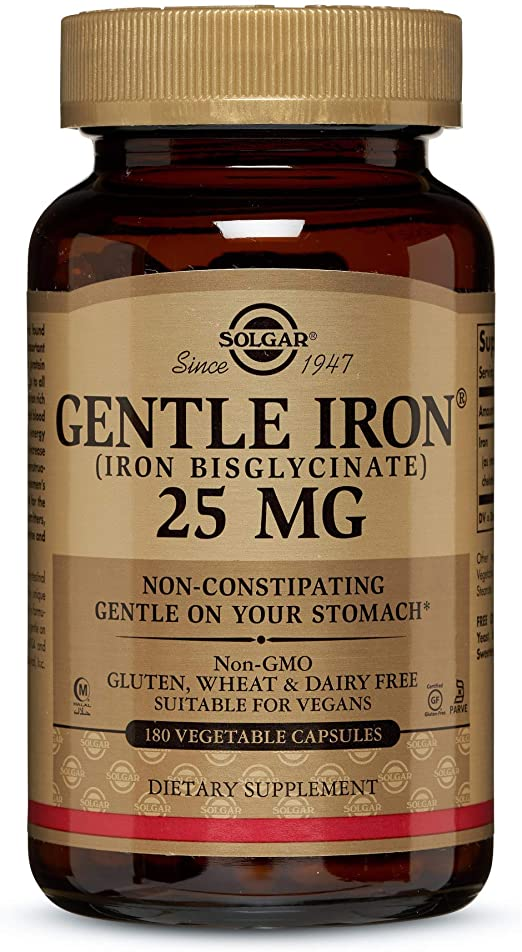 Gentle Iron 25MG 90 Capsules