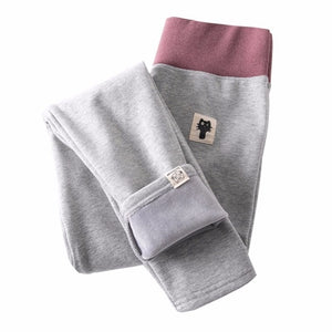 Light Gray Fleece Lined Leggings