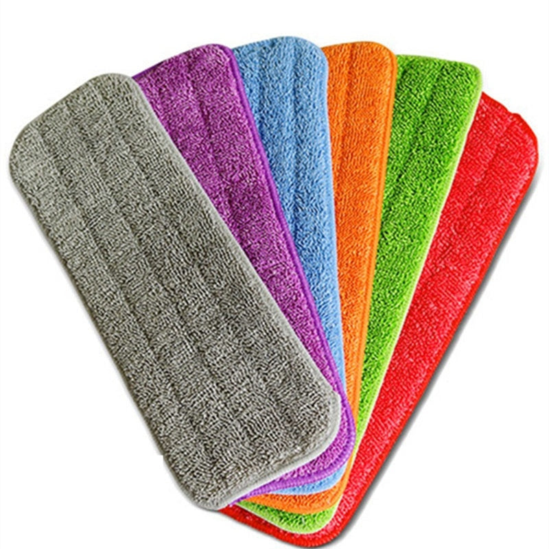 Rainbow Microfibre Cloths