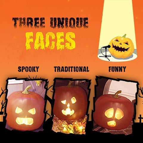 Talking Animated Pumpkin | Shoppersy.com