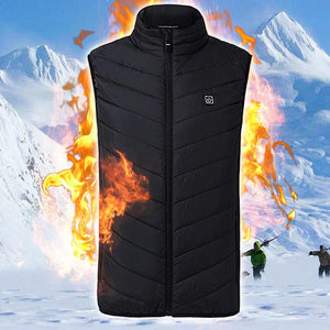 Instant Warmth Unisex Heating Vest - Shoppersy.com