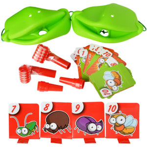 Tic-Tac Chameleon Tongue Funny Board Game For Family Party