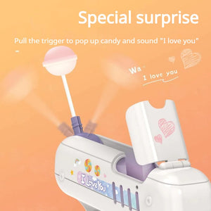 Lolligun - Surprise Lollipop Gun - Shoppersy.com