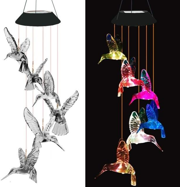 Chimwow- Color-Changing Wind Chimes - Shoppersy.com