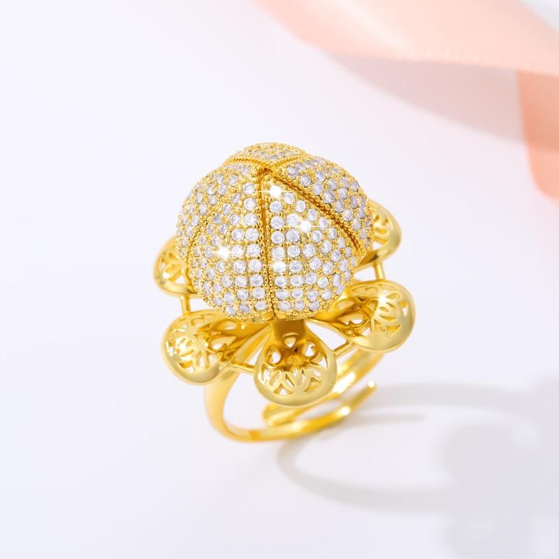 Flocaw-Adjustable Flower Blooming Ring - Shoppersy.com