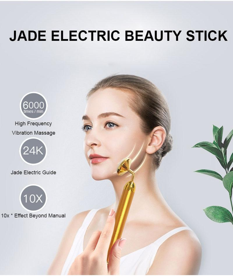 Jasmis-24k Gold Face Massager - Shoppersy.com