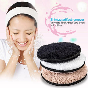 Powcloud-Resuable Makeup Removing Pads - Shoppersy.com