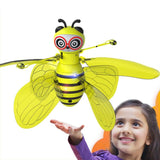 Hot UFO Drone Magical Bee Fly RC Helicopter Infraed Induction Aircraft Upgrade RC Toys for Kids,Children Figure Toy Plane Gift - Shoppersy.com