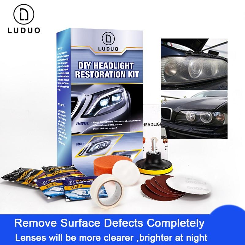 Luduo™ Headlight Polishing Restoration Kits - Shoppersy.com