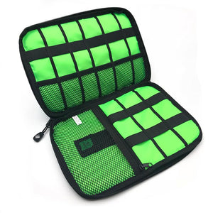 Travel Cable Organizer System Kit Case - Shoppersy.com