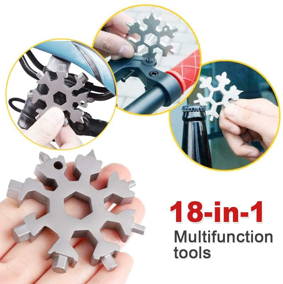 Snowflake 18-In-1 Multifunctional Tool - Shoppersy.com