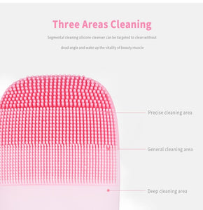 Sonic Clean- Facial Cleansing Brush - Shoppersy.com