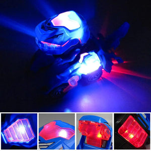 SpeedRex Transforming LED Car - Shoppersy.com