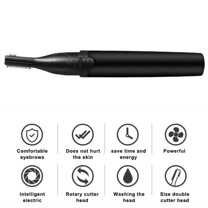 Trimim- 2-In-1 Eyebrow Trimmer - Shoppersy.com