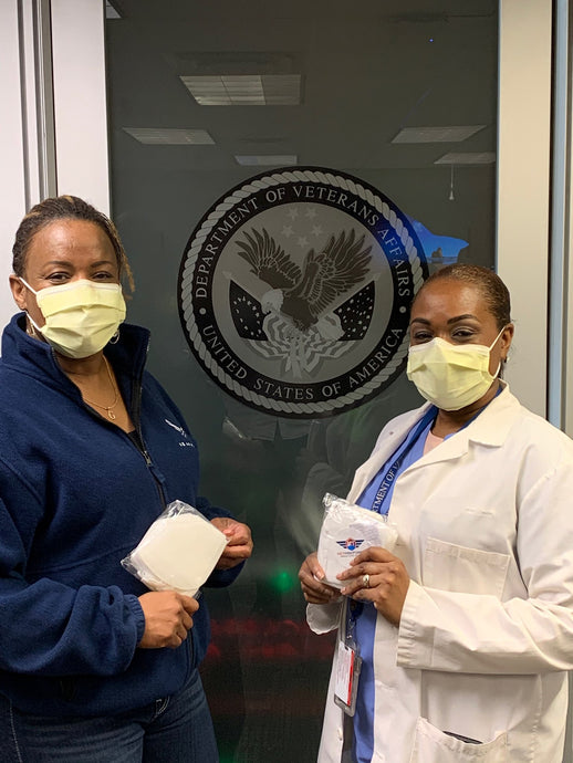 Department of Veterans Affairs, MedStar Washington Hospital Center, Central Union Mission and three other Organizations received KN95 masks donations. #ACTaskForce