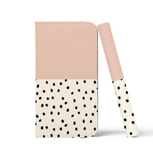 Load image into Gallery viewer, GEO MINI POLKADOTS Pink Wallet Case