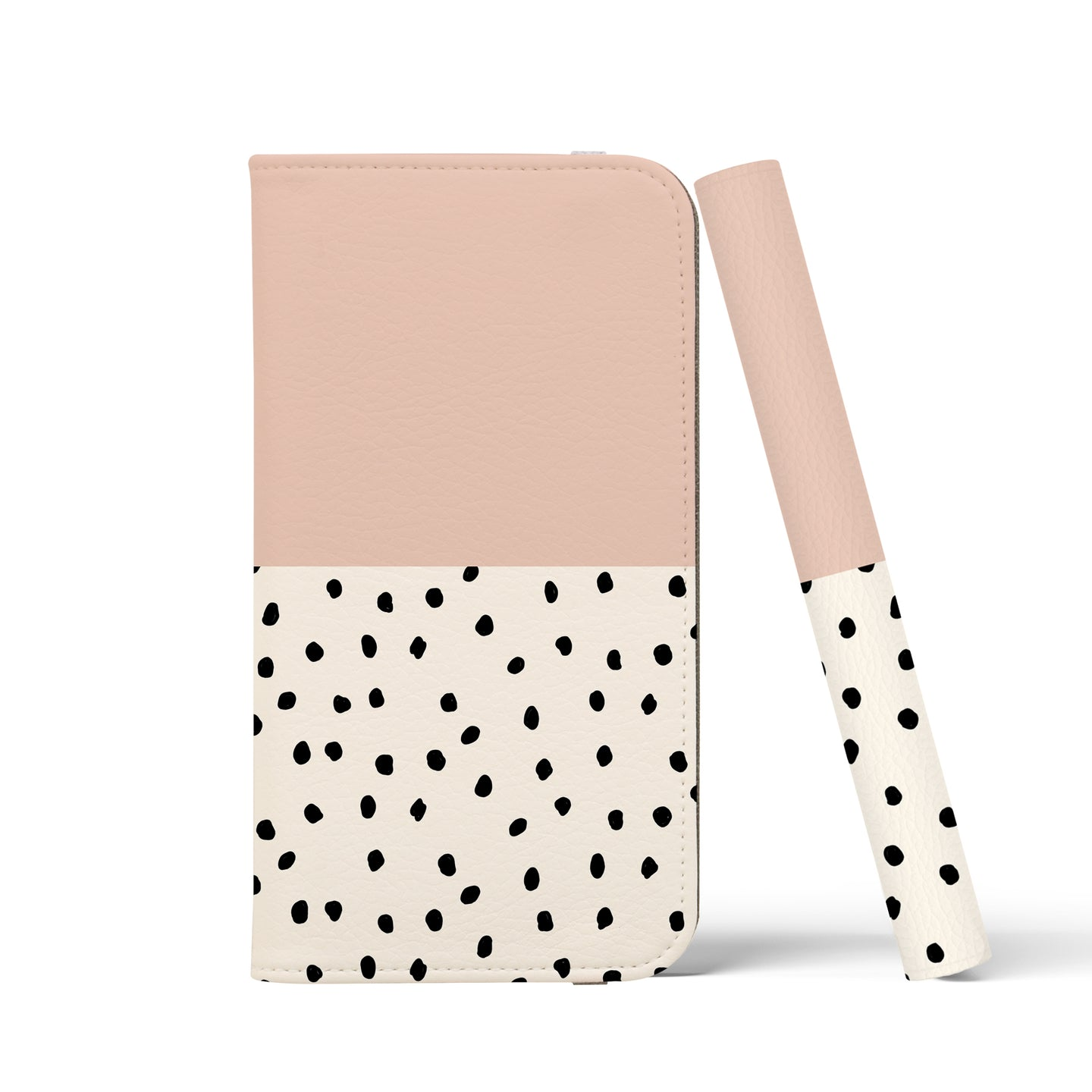 GEO MINI POLKADOTS Pink Wallet Case