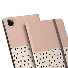 Load image into Gallery viewer, GEO MINI POLKADOTS Pink iPad Pro Case