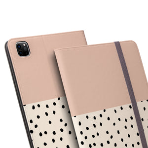 GEO MINI POLKADOTS Pink iPad Pro Case