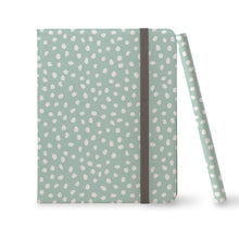 Load image into Gallery viewer, JADE MINI DOTS Mint iPad Pro Case