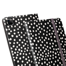 Load image into Gallery viewer, PAINTED DOTS Black iPad Pro Case
